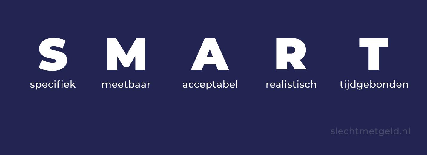 SMART doelen betekenis